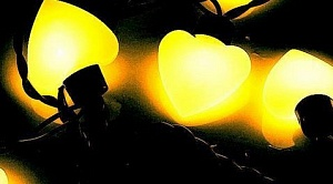 "Гирлянда ""ARL-HEART-5000-20LED Yellow (220V, 5W)"""