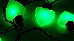 "Гирлянда ""ARL-HEART-5000-20LED Green (220V, 5W)"""